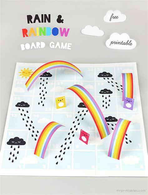 Gamis Rainbow rainbows board mr printables