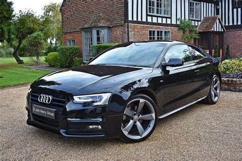 Audi A5 Black by Used Black Audi A5 For Sale Kent