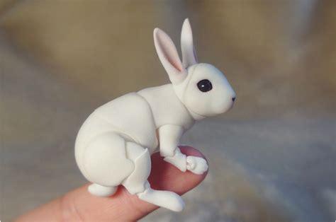 porcelain doll elastic bjd bunny doll