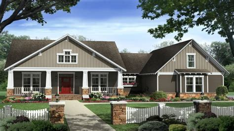1 Story Craftsman House Plans by Single Story Craftsman House Plans Craftsman House Plan