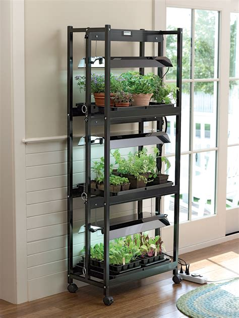 stack  grow light system shelf height extender