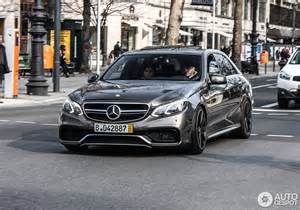 Mercedes V8 Amg Mercedes E 63 Amg W212 V8 Biturbo 27 February 2014