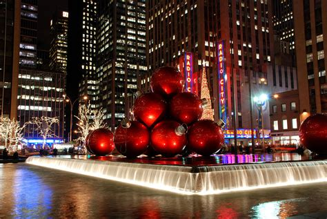 merry new york city christmas photograph by nancy de flon