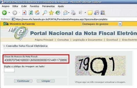 layout da chave da nfe como consultar uma nfe no portal nacional emissor nf e