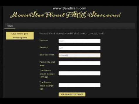 musically fans no verification or survey moviestarplanet starcoin hack no