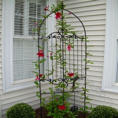 Decorative Garden Trellis Factory Supply Decorative Powder Coated Metal Garden