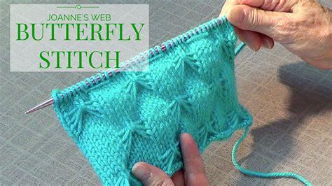 butterfly scarf knitting pattern butterfly stitch