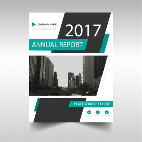 elegant company profile design 2017 annual brochure vector free download