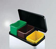 poubelle de cuisine tri s駘ectif 3 bacs poubelle tri s 233 lectif cuisine envi2bio