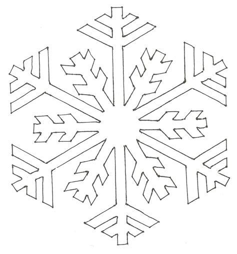 snowflake templates easy paper snowflakes paper snowflake