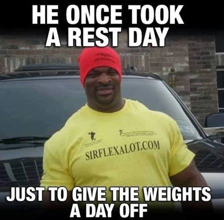 protein on rest days rest day bodybuilding quotes quotesgram