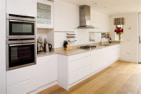 contemporary kitchen with flat panel cabinets by dan rak kitchen cabinet styles marc and mandy show