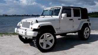 Jeep Wrangler 4 Door White All White Jeep Wrangler Jk 4 Door By Underground