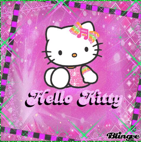 hello kitty pink picture 130481140 blingee com hello kitty gt in pink green picture 113948463