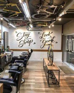 Lu Barbershop Murah Simpel dekorasi salon dan barbershop menggunakan mural dan stiker keren