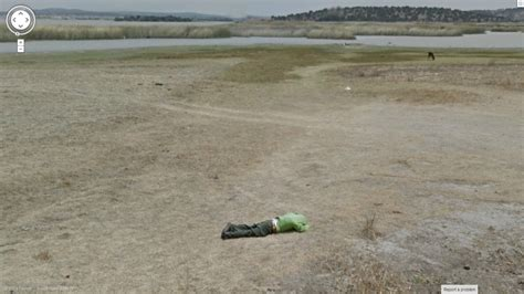 dead bodies on google street view is this guy dead google street view world funny