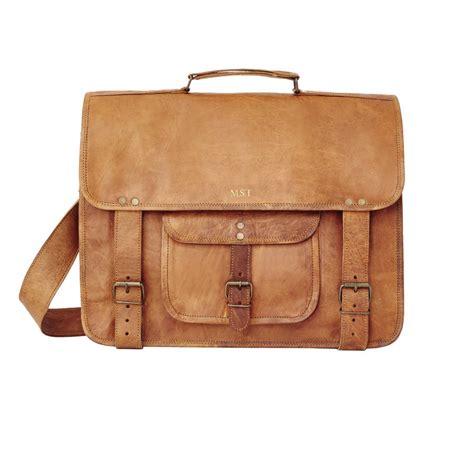 Handmade Laptop Bag - handmade leather laptop bag by vida vida