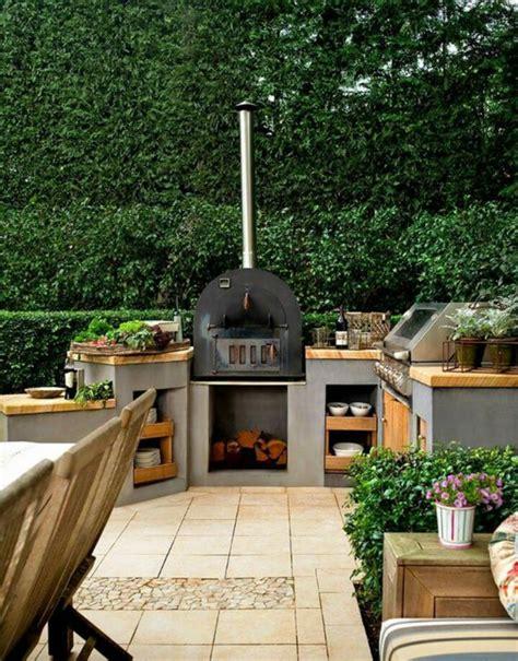 Cuisine Ete Exterieure Bois by 1001 Id 233 Es D Am 233 Nagement D Une Cuisine D 233 T 233 Ext 233 Rieure
