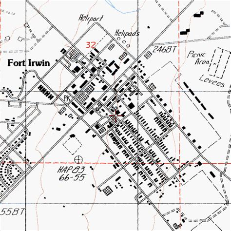 fort irwin map fort irwin post library ca