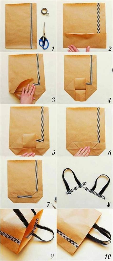 Steps To Make Handmade Paper Bags - 1000 ideas about adventskalender t 252 ten on