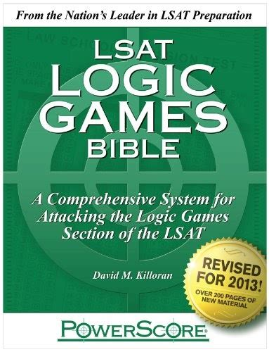 what are the sections of the lsat powerscore lsat logic games bible review best lsat prep