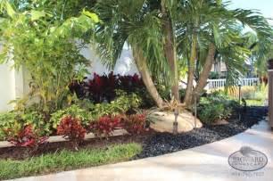 Front yard landscape tropical landscape miami by