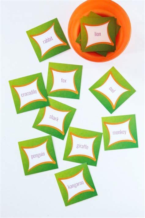 printable animal jam gift certificate free printable animal charades cards best of pinterest