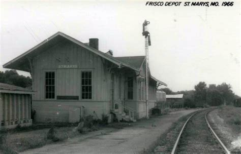 st marys missouri depot 187 frisco archive