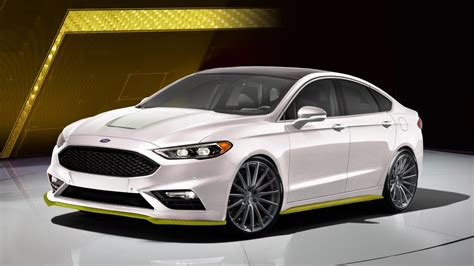 ford fusion mustang ford mustang and fusion sport next to get sema treatment