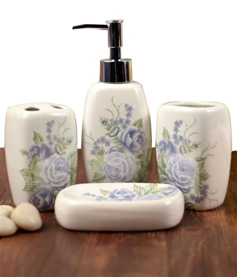 bathroom accessories price in india buy enfin homes porcelain bath sets online at low price in