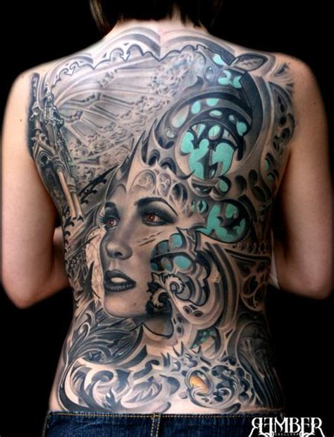 tattoo pictures gothic gothic back tattoos