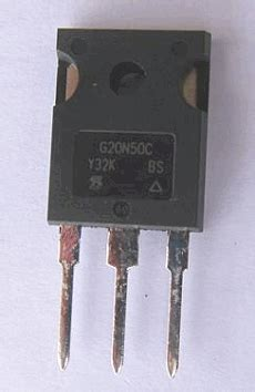 transistor g20n50c g20n50c datasheet g20n50c pdf pinouts circuit vishay semiconductors