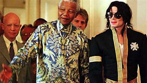Meets New The Iconic Of George Chamoun by Michael Jackson Meets Nelson Mandela Mj Friends