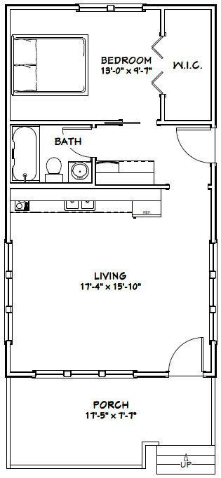 tiny house floor plans pdf 18x32 tiny house 576 sqft pdf floor plan model 1 mini maison minis et chalet