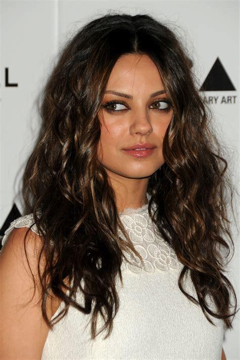 Mila Kunis Hairstyle by Mila Kunis Best Hairstyles Wardrobelooks