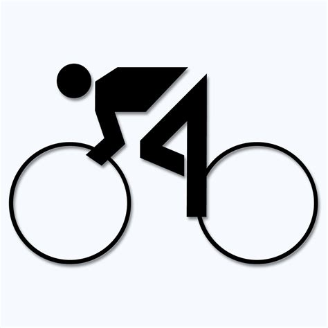 Aufkleber Sport Rennrad by Aufkleber Rennrad Radsport 30 Farben Zur Wahl Motiv 1
