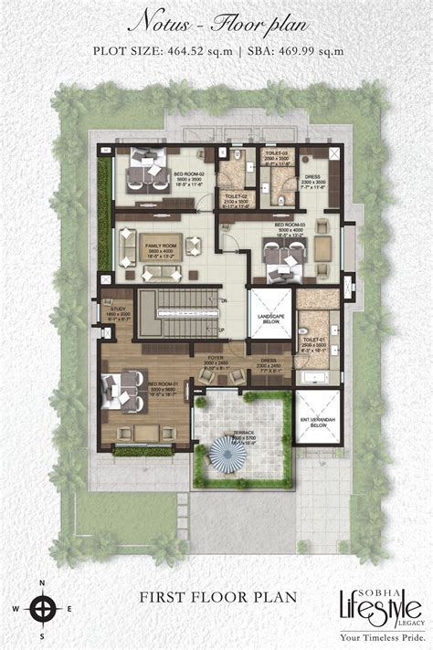 villa plan luxury villa floor plans india