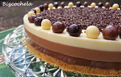 tartas faciles y horno dia madre recetas y a cocinar se ha dicho tarta tres chocolates