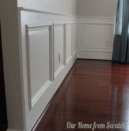 Simple Wainscoting by Best 25 Dining Room Paneling Ideas On