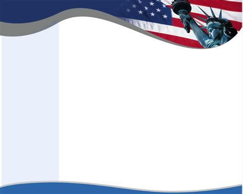 Free Patriotic Backgrounds Wallpapersafari Patriotic Powerpoint