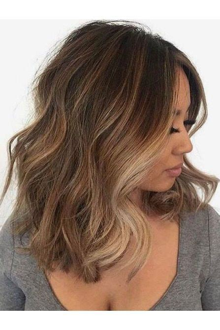 where to apply face framing highlights on short hair gorgeous brown hairstyles with blonde highlights