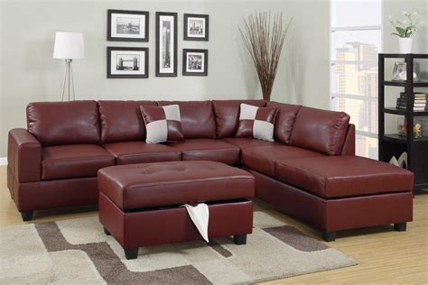 maroon leather sofa why you should choose a small sectional sofas ifresh design
