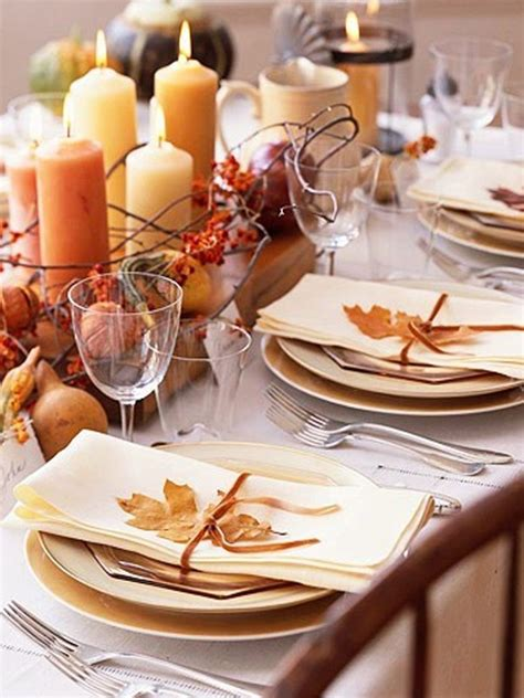 Thanksgiving Table Favors Traditional Thanksgiving Table Decorations
