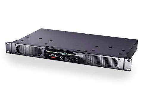 Audio Rack Mount by Fostex Rm 3 1u Rack Mount Stereo Monitor System W Aes Ebu
