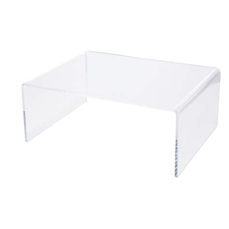 x large desk riser acrylic clear ebay