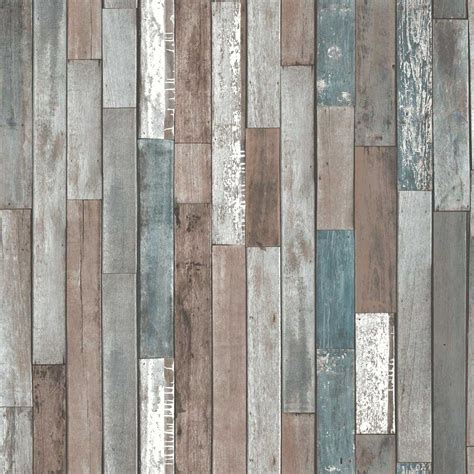 Cheap Country Home Decor by Fine Decor Reclaimed Wood Wallpaper Fd40888