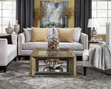 Grey Gold Living Room Modern House Grey And Gold Living Room