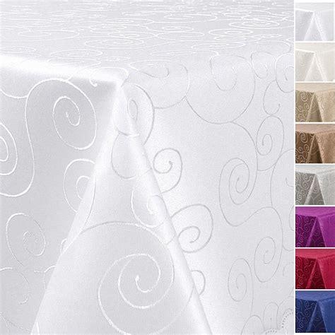 tischdecken halterungen tischdecke damast ornamente gr 246 223 e farbe frei w 228 hlbar