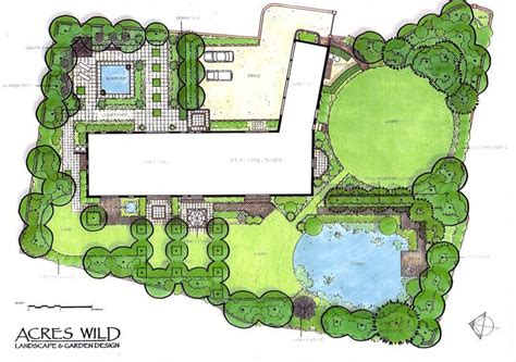 acres wild masterplan masterplan by acres landscape planning master pln landscape plans