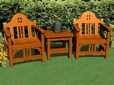 how to make outdoor furniture plans